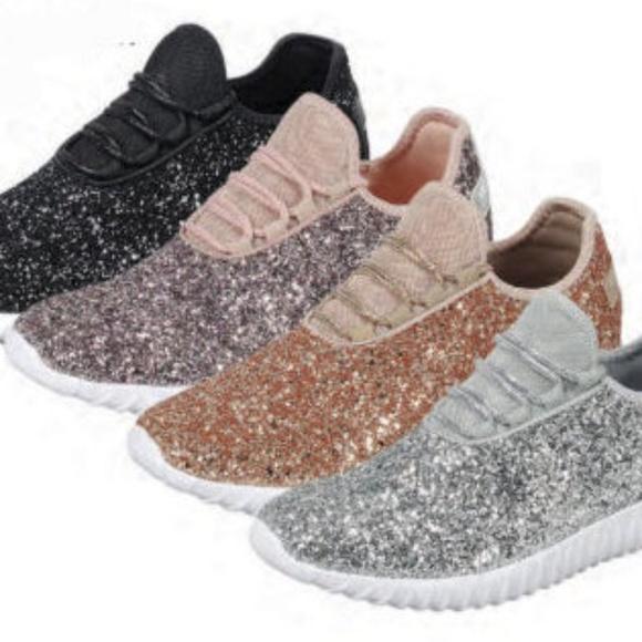 forever link glitter sneakers